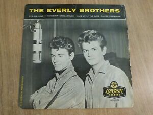 THE EVERLY BROTHERS - THE EVERLY BROTHERS - UK EP - VG+ /  VG