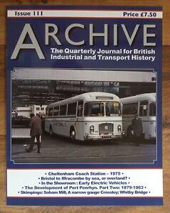 Archive Magazine Issue 111, Lightmoor Press Softback