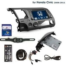 7'' Honda Civic 2006-2011 Car GPS Nav Stereo CD DVD Player Touch Radio BT+Camera