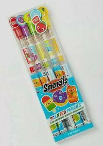 Smencils 5 Pack #2 Scented Pencils New In Box Scentco Arts & Craft School Supply