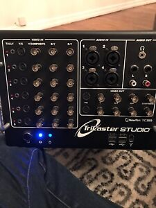NEWTEK TRICASTER STUDIO TC350 w/ Studio 2 Educational
