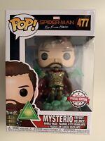 Mysterio (w/out Helmet) Funko Pop! Vinyl Figure #477 Spiderman Far From Home
