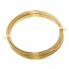 Bead Craft Wire Gilt on Copper 1mm (18 AWG) - 4 Metres (C68/9)