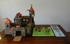 Playmobil Knights ~ grandes ritterburg/Kings large Castle (3666) & instrucciones