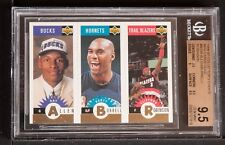 1996-97 Collector's Choice mini cards gold Ray Allen bgs 9.5 rookie