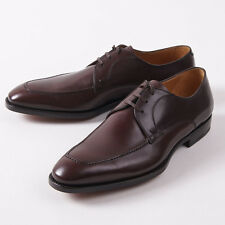 NIB $895 CANALI 1934 Brown Calf Leather Goodyear-Welt Derby US 11 D Shoes