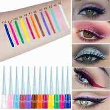 12 Colors Eyeliner Pencil Neon Green White Matte Liquid Waterproof Makeup Sexy.W