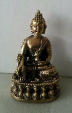 Medicine Buddha Statue Buddhist Brass  All Metal Top Quality Miniature #ZS19
