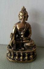 Medicine Buddha Statue Buddhist Brass  All Metal Top Quality Miniature #ZS19