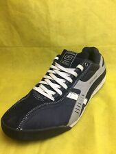 Skechers The All American suede Navy Blue/Gray Walking Shoes Men's (Size:13)