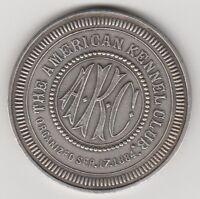 (X) Token - American Kennel Club - Champion Dandy Pat II - 257187 - Fine Silver