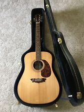 Washburn D-56SW Timbercraft Solid Wood Series Dreadnought Acoustic Guitar