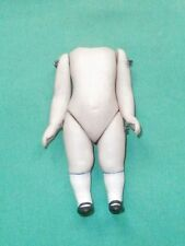 """dollhouse doll-body bisque antique 3 1/8""""/Germany"""