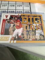 2017 Score Patrick Mahomes Big Man On Campus SP Gold Variation Nice Card!!!!