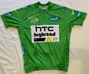 Mark Cavendish signed 2011 Tour de France green cycling jersey HTC *PROOF*