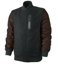 NIKE British Millerain DESTROYER Jacket Black Varsity Thermore Coat NWT - Small
