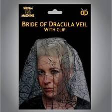 Halloween novia de Drácula VELO Zombie Disfraz Mujer