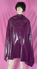 Friseurschürze Frisierumhang Coiffeur Lätzchen purple PVC NEU Diargh