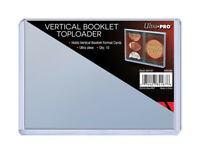 (10) Ultra Pro Booklet Card Toploaders Vertical Book Card Topload Holders