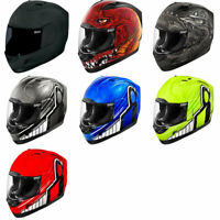 Icon Alliance Full Face Motorcycle Helmet DOT - Pick Size and Graphic