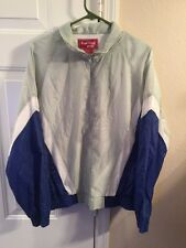 ROYAL KNIGHT vtg Nylon track jacket rap athletic zip-down hip hop old-school