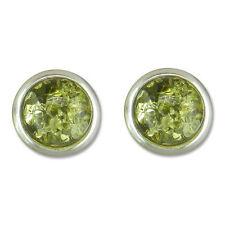 Orecchini di lusso con gemme bottoni Farfallina in argento