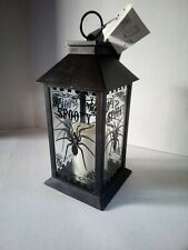 Holiday Home Halloween 12 in LED Lantern Spiders