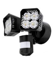 New listing 36-Watt 3600 Lumens 180-Degree Black Motion Sensor Outdoor Integrated Led 5000K