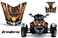 AMR Racing CanAm BRP RS Spyder Hood Graphic Kit Wrap Roadster Sticker Decal FS K