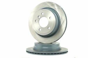 Meyle Rear Brake Disc Rotors 300mm fits BMW 3 Series E93 320i 325i 320d