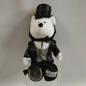2007 Limited Treasures President Abraham Lincoln Teddy Bear Stuffed animal