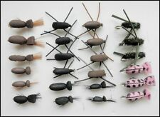 Beetle Trout Fishing Flies, 24 Pack, Gum Beetle, Standard, Peacock & pink Lady