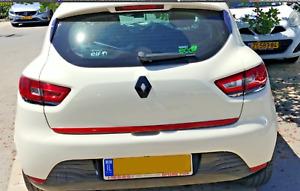 REAR GLOSS BLACK BOOT BADGE EMBLEM - RENAULT CLIO 4 IV 2013-2019 GT RS SPORT cr