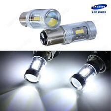 2x P21/5W 1157 BAY15D SAMSUNG 15W LED Tagfahrlicht Lampe Rücklicht Standlicht