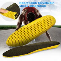 Newest Honeycomb  Sweat absorption Breathable Sport Shoes Insoles