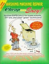 Cheap & Easy Washing Machine Repair: 2000 Edition (Cheap and Easy)-ExLibrary