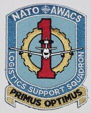 Luftwaffe Aufnäher Patch NATO AWACS Logistics Support Squadron ..........A5092K