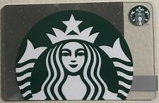 CYPRUS STARBUCKS CAFE 2018 SILVER SPARKLE SIREN Brand New Intact Mint CARD