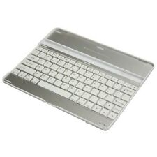 For iPAD ULTRA SLIM KEYBOARD WIRELESS ALUMINUM CASE TABLET STAND DOCK