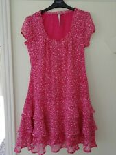Ladies Pretty Pink Short Dress CREW CLOTHING  Size 10