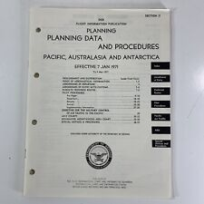 Dod Us Air Force 1971 Planning Data Procedures Pacific Australasia Antarctica