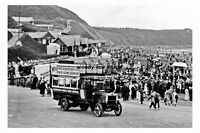 pt3629 - Motor Bus at North Bay , Scarborough , Yorkshire - photograph 6x4