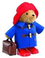 PA1102 Paddington Bear With BOOTS and Suitcase by Rainbow Designs