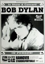 DYLAN, BOB - 2002 - Konzetplakat - In Person - Tourposter - Concert - Hannover
