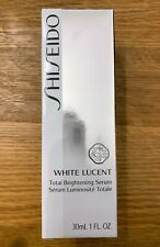 Shiseido White Lucent Total Brightening Serum  1 oz 30 ML New SEALED!