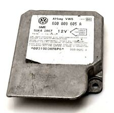 GENUINE VW BEETLE CRASH SENSOR AIRBAG CONTROL MODULE 6Q0 909 605 A
