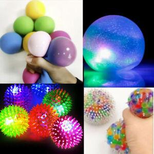 Soft Massage Sensory Development Educational Puzzle Ball Sound Toys Light Up LED