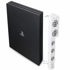 WHITE PS4 Pro Console External Super Cooling Fan - Turbo Cooler