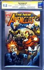 The New Avengers # 27 CGC 9.8 SS 1:100 Yu Variant 1st APP New Ronin Signed Yu &