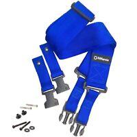 NEW DiMarzio DD2200BL 2 Inch Nylon ClipLock Guitar Strap Quick Release - BLUE